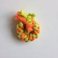 Ring S Lime Oranje