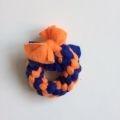 Ring S Blauw Oranje