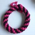 Ring L Roze Zwart