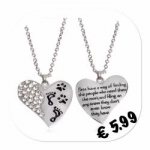 Ketting strass + pootjes