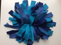 Snuffelmat S blauw