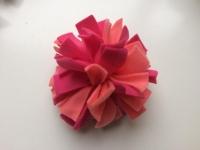 Frutselbal roze zalm