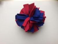 Frutselbal blauw rood