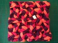 Snuffelkleed paars roze zalm