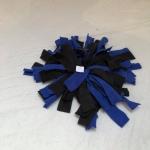 Snuffelmat S blauw zwart