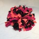 Snuffelmat M zalm roze zwart