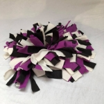 Snuffelmat M paars zwart wit