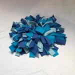 Snuffelmat M blauw #1