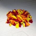 Snuffelmat M oranje rood geel