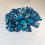 Snuffelmat M blauw #2
