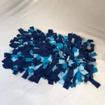 Snuffelmat L blauw